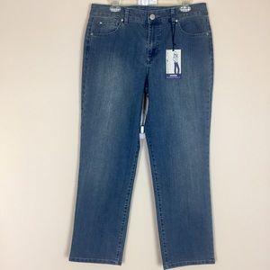 🆕 Bandolino Mandie Sz14S Perfect Fit Jeans 👖